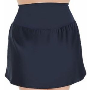 NWOT St Johns Control Top Navy Swim Skirt
